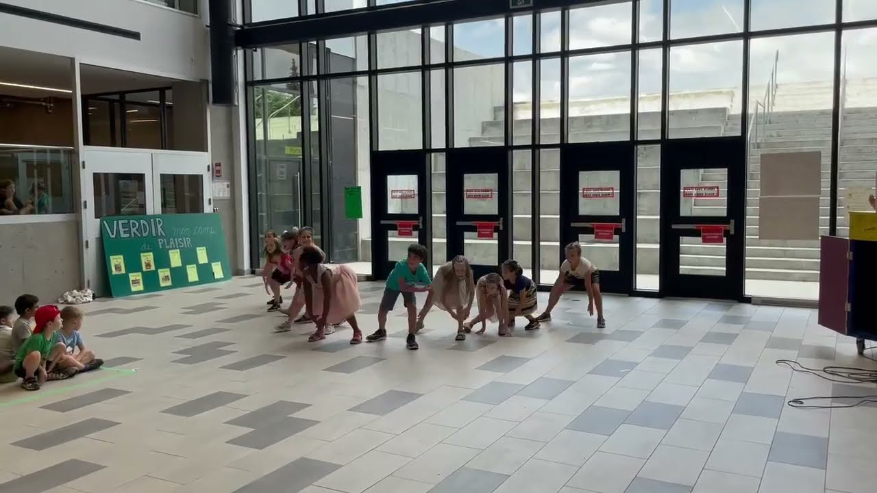 Chorégraphie camp Choréo groupe 1- Semaine 6 - Collège Montmorency