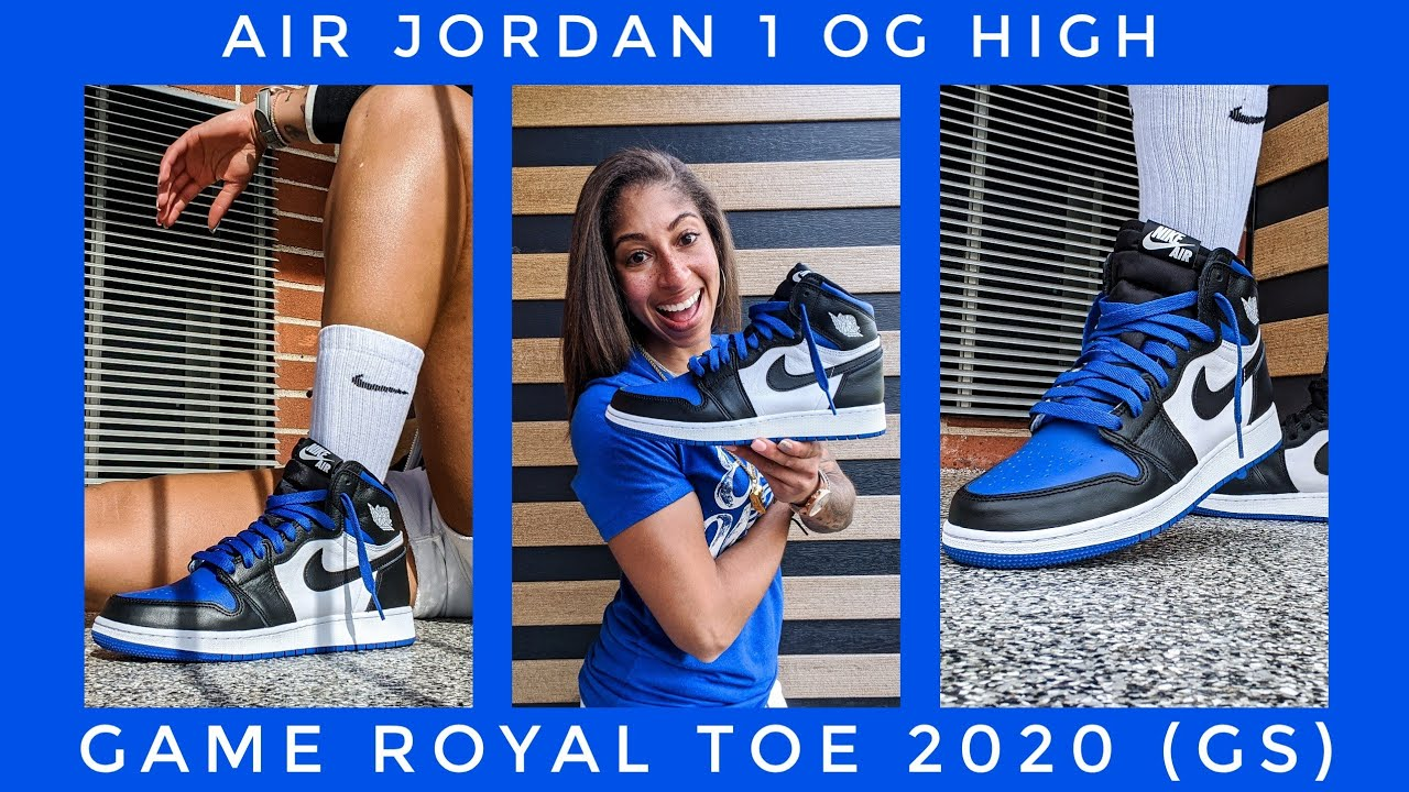 Air Jordan 1 Game Royal Toe 2020 GS | Thank you Sole Play ATL!!!