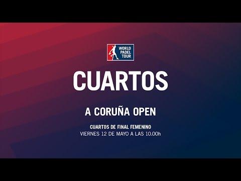 Cuartos de Final Femenino A Coruña Open   World Padel Tour