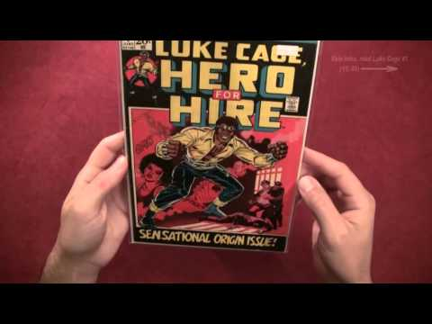 Reading Comics: Luke Cage, Hero For Hire #1, First Appearance/Origin, Marvel, 1972 [ASMR, Male]