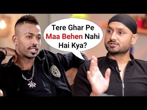Harbhajan Singh ANGRY Reaction On Hardik Pandya Koffee With Karan Episode