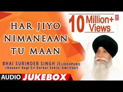 HAR JIYO NIMANEAAN TU MAAN - BHAI SURINDER SINGH || PUNJABI DEVOTIONAL || AUDIO JUKEBOX ||