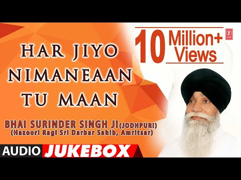 HAR JIYO NIMANEAAN TU MAAN - BHAI SURINDER SINGH || PUNJABI DEVOTIONAL || AUDIO JUKEBOX ||