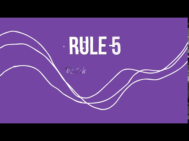 Art Department Rules for Creativity - Animation