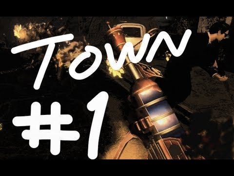 Town Round 69 World Record - Black Ops 2 Zombies Co-op 2 Player Survival Strategy