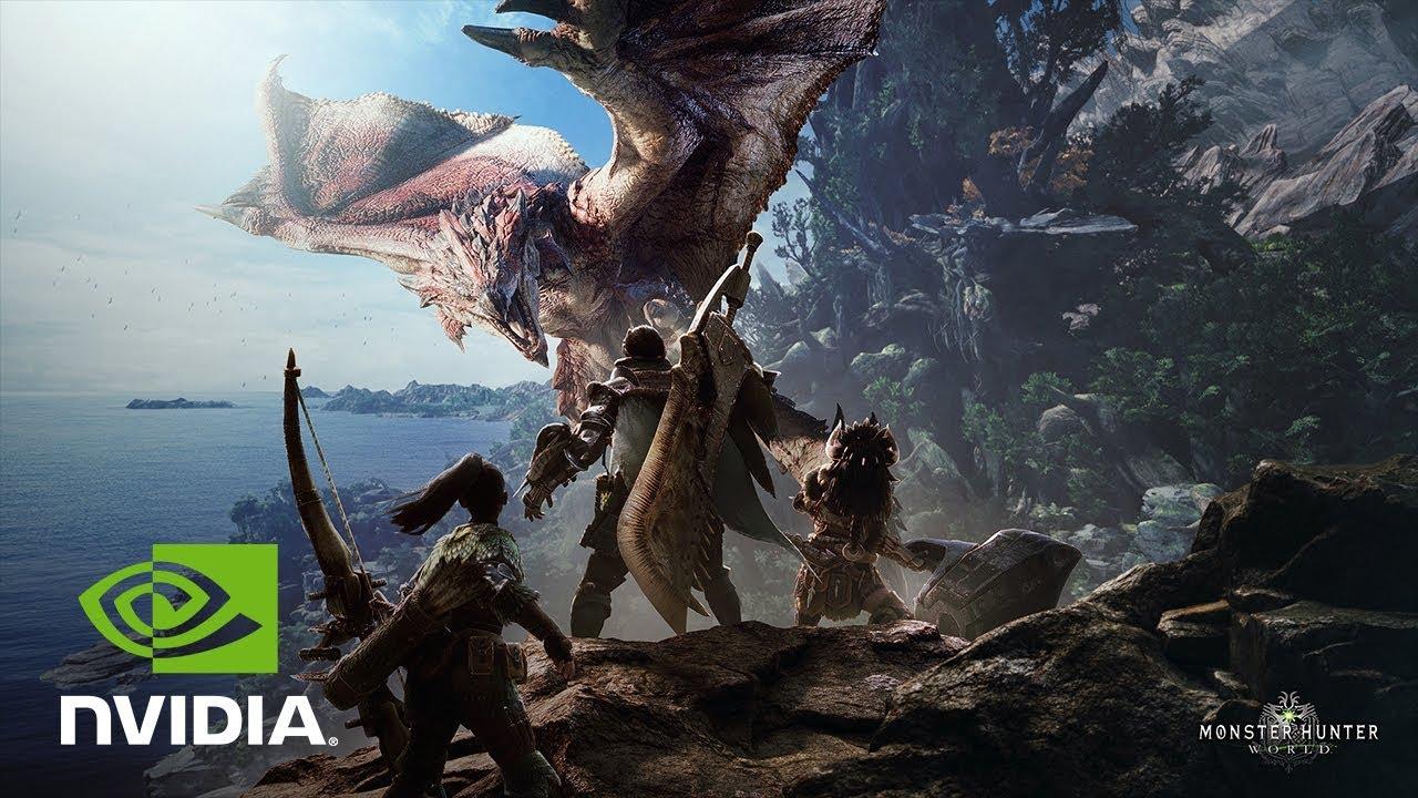 Nvidia бесплатно дарит Monster Hunter: World на PC за покупку GTX 1070Ti, 1070 или 1060