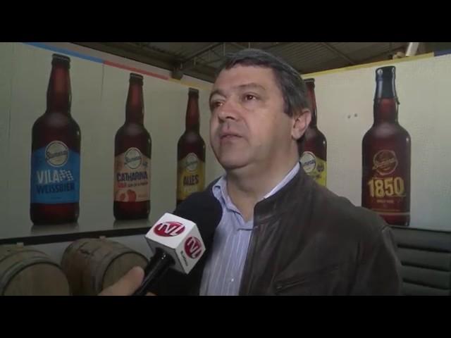 Visita à Cervejaria Blumenau