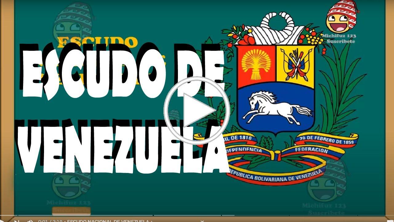 escudo nacional de venezuela y sus partes significado