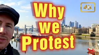 Why do we Protest against what so many are happy to do and take?