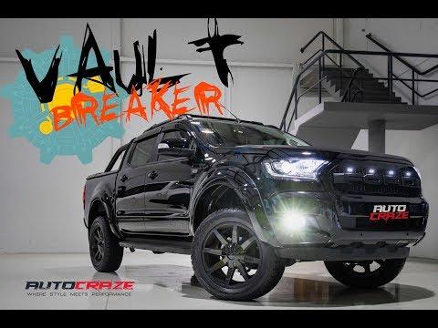 VAULT BREAKER // Aftermarket Ford Ranger FX4 4WD Accessories Australia, Rims, Hardlid & Part