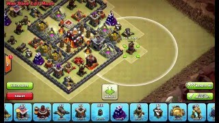 Clash of Clans Layouts - Town Hall 10 War Base Layout 112 (Hailey) with 275 Walls
