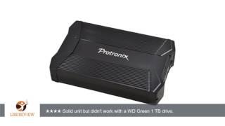 Protronix E35-B USB 3.0 3.5 Inch SATA Hard Drive External Enclosure | Review/Test