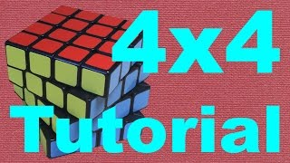 How to Solve the 4x4 Rubik's Cube (v2)
