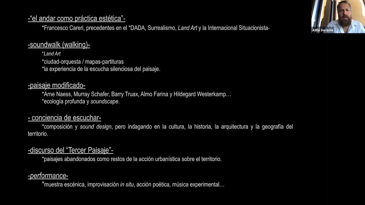 Intervención en el Encuentro Internacional de Grabación de Campo, México 2020