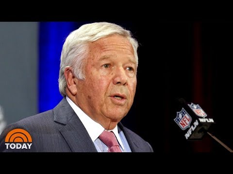 Patriots Owner Robert Kraft Charged With Soliciting Prostitution | TODAY