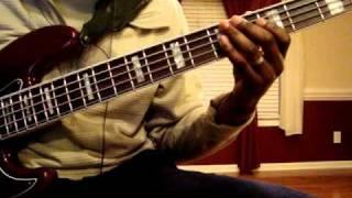 """Free Gospel Bass Breakdown: """"Part 1"""" A bass run/lick walk up into a chord"""