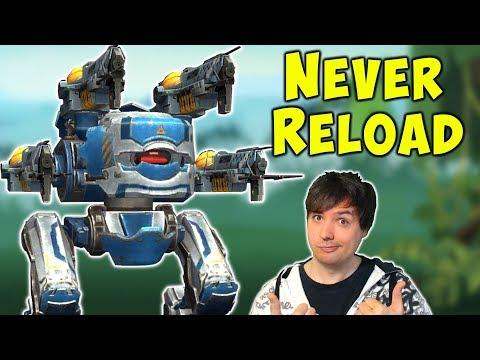 NEVER RELOAD With MAGNUM Blitz Mk2 Fun War Robots Gameplay WR