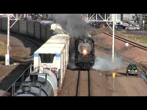 Worlds largest steam locomotive is back! Big Boy 4014 hits the main line