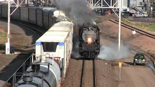 Worlds largest steam locomotive is back! Big Boy 4014 hits t...