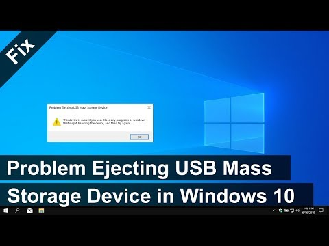 """How To Fix """"Problem Ejecting USB Mass Storage Device"""" In Windows 10 (3 Solutions)"""