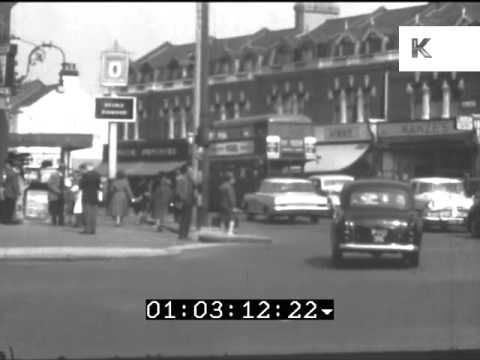 Rare Home Movie Footage of 1960s Leyton High Road, East London