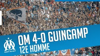 OM 4-0 Guingamp | The victory from the stands 🔥