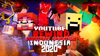 Youtube Rewind Minecraft Animation Indonesia 2020 = End Of The Beginning =