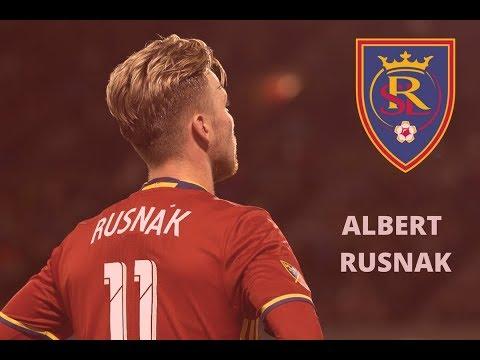 Albert Rusnak |Little Boy in The American World| Skills, Goals & Assist •Real Salt Lake• 2017/18 HD