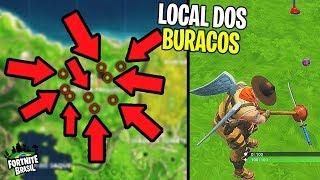 Nesse vídeo eu mostro os locais dos buracos de golfe para completar...