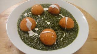 Paneer Kofta In Spinach Gravy | Sanjeev Kapoor Khazana