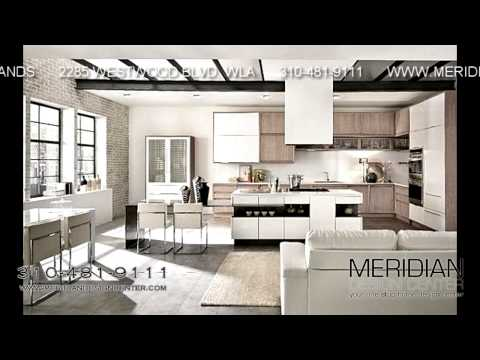 Modern Cabinets West Los Angeles - Meridian Design Center