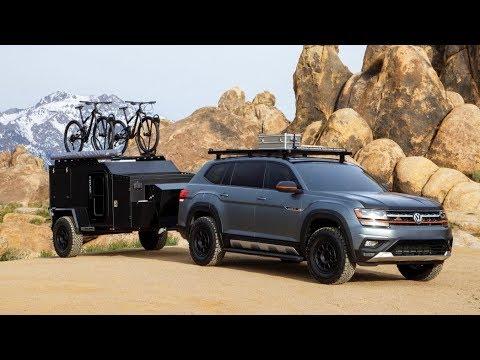 2019 Volkswagen Atlas Basecamp Concept - Ultimate Offroad Camper Rig !!