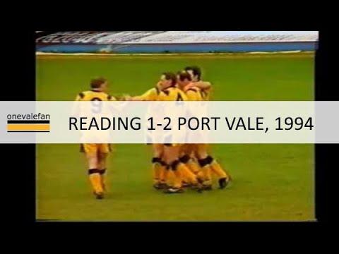 Reading 1-2 Port Vale, Feb 1994