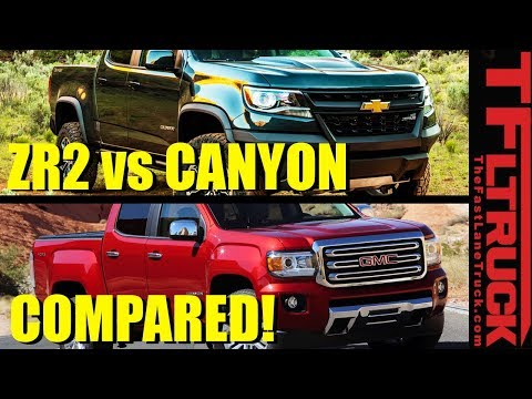 Chevy Colorado ZR2 Vs GMC Canyon: Here Is The Real World MPG Difference!