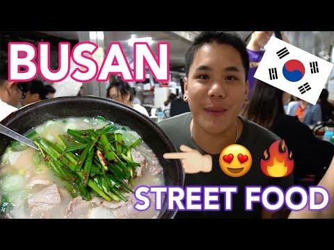 BUSAN FOOD & STREET FOOD BONANZAA!!! (VLOG_04)