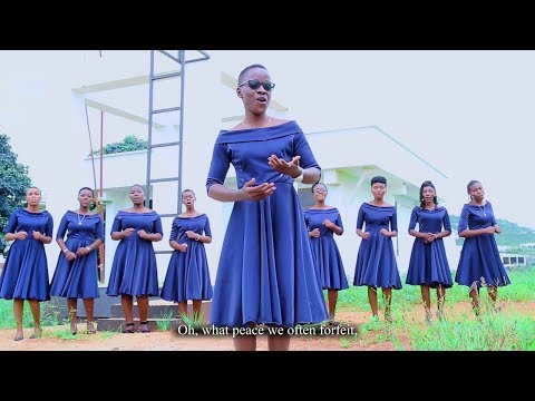 WHAT A FRIEND WE HAVE IN JESUS_ST. TERESA OF CALCUTTA CHOIR (THE UNIVERSITY OF DODOMA-UDOM)