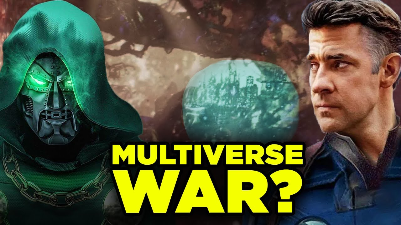 FANTASTIC FOUR VS DOOM MCU Movie Confirmed by Kang Announcement? | RT