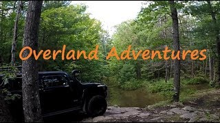 EXTREME OVERLAND ADVENTURES - Getting Stuck in Deep Mud and Recovering my 4x4 rig