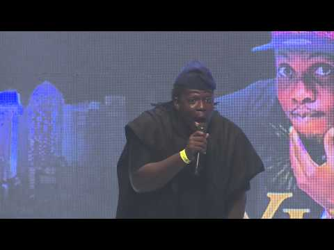 Video (stand up): Comedian Lafup Talks Nigerian Mothers at AY Live