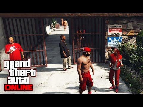 GTA 5 ONLINE LIVE!   Blood Gang (Gang Wars) Final Initiation! MOD GTA 5