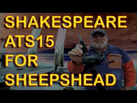 VERY WORTHY Shakespeare ATS15 For Sheepshead At $35