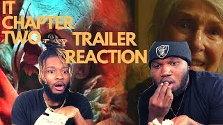 IT CHAPTER TWO - Official Teaser Trailer (REACTION) | THE BUMS
