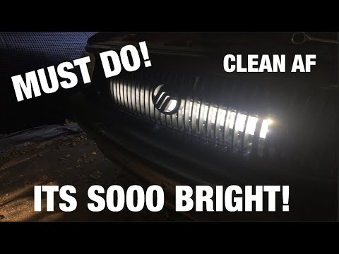 LED LIGHTBAR BEHIND THE GRILLE! |1999 Mercury Mountaineer