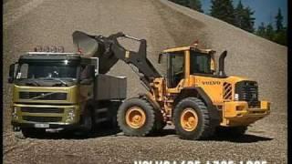 Volvo-Radlader L60F - L120F