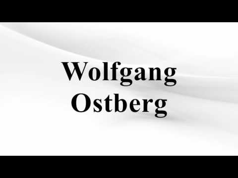 Wolfgang Ostberg