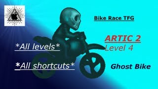 [Bike Race TFG] Artic 2 Level 4 *Ten ways to do* (Ghost Bike)