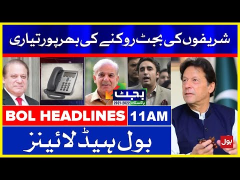 PMLN vs PTI over Bugdet 2021-22