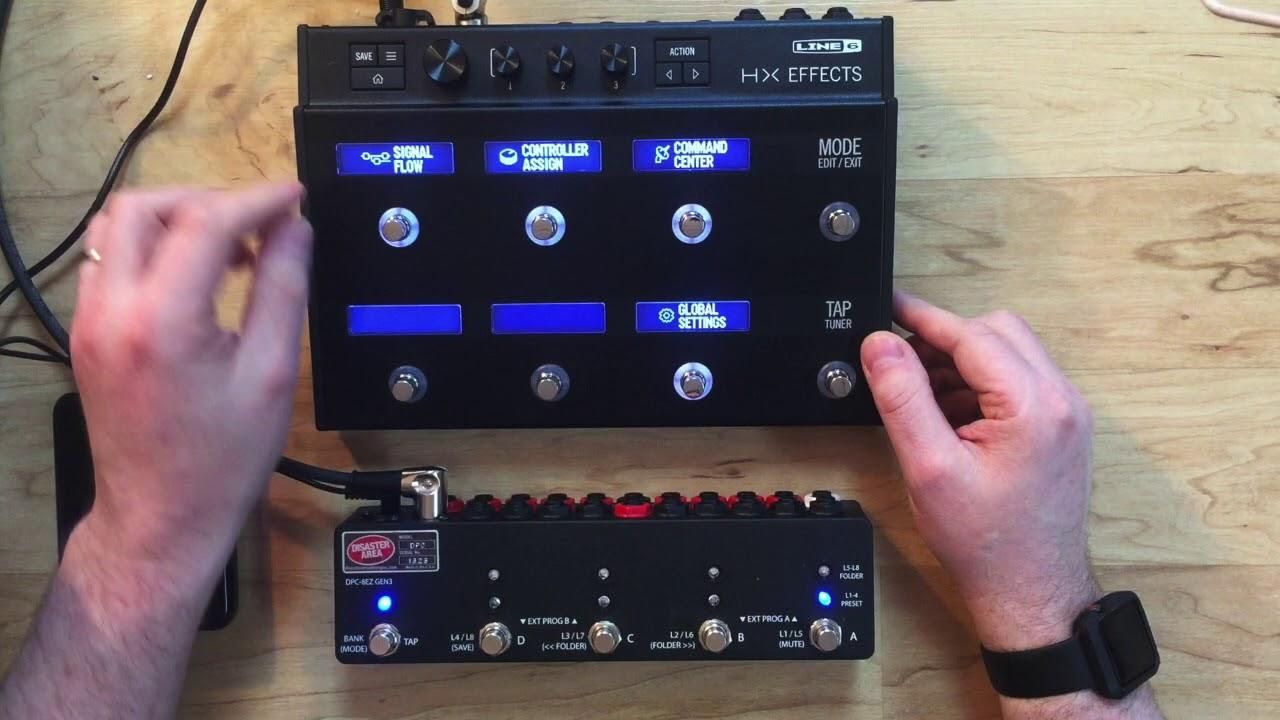 DPC-8EZ Gen3 Programmable Bypass Switcher with MIDI
