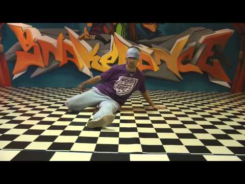 Break Dance Tutorial Basic Power Moves - Back Spin