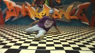 Break dance tutorial basic power moves - Back Spin